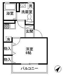 ミレナリオ[2階]の間取り