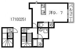 カーサピノバグ[2階]の間取り