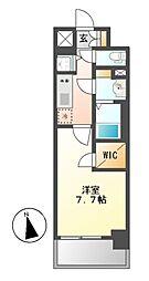 プレサンス新栄町ギャラント[14階]の間取り