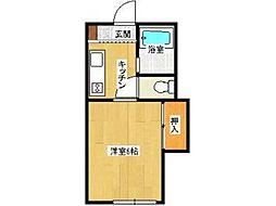 ライブMII[2階]の間取り
