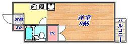 シティライフ灘43[105号室]の間取り