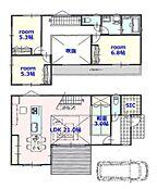 建物参考プラン:間取り/4LDK、延床面積/106.11?、土地建物参考価格/8580万円(税込)\n