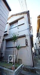 東京都新宿区愛住町の賃貸アパートの外観