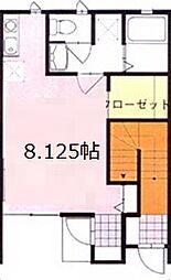 神奈川県厚木市栄町2丁目の賃貸アパートの間取り