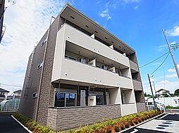 千葉県柏市関場町の賃貸アパートの外観