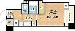 ランドマークシティ大阪城南第2[6階]の間取り