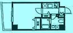 スペースアメニティ溝口[3階]の間取り