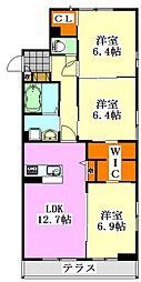 仮)駿河台2丁目シャーメゾン[101号室]の間取り