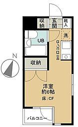 フェニックス西荻窪[3階]の間取り