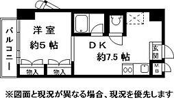 兵庫県神戸市東灘区森北町2丁目の賃貸マンションの間取り