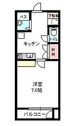 タイセイパレスA-III[102号室]の間取り