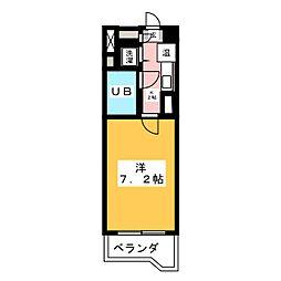 ファーストスプリング[2階]の間取り