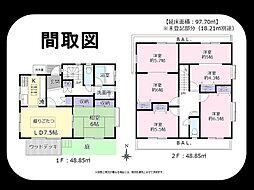 北綾瀬駅 1,980万円