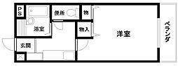 ライフパートII3階Fの間取り画像