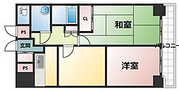 マイルド新大阪レジデンス[11階]の間取り
