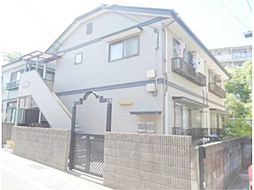 東京都日野市三沢4丁目の賃貸アパートの外観