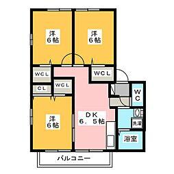 Grand-pere(グランペール)[2階]の間取り
