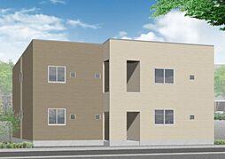 仮)須恵町新築アパート[2階]の外観