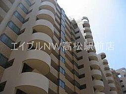 香川県高松市茜町の賃貸マンションの外観