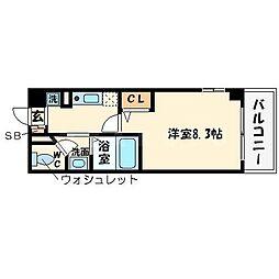 グランドステージ大阪城北[6階]の間取り