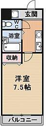 プリオールZEN[108号室号室]の間取り
