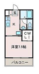 サニーコート共和[2階]の間取り