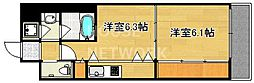Grand Eterna京都[1611号室号室]の間取り