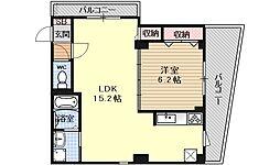 プレサンス京都四条河原町ネクステージ[206号室号室]の間取り