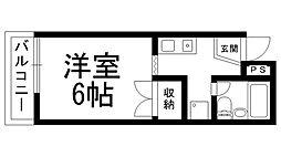 田中ハイツ[0101号室]の間取り