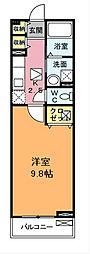 シャロルTK[2階]の間取り
