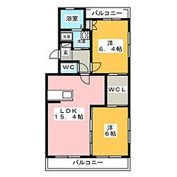 仮)エステート曳馬[4階]の間取り