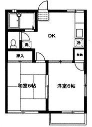ファミリーコーポ笈川C(ファミリーコーポオイカワC)[2階]の間取り