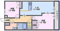 ファミール[2階]の間取り