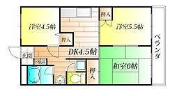 浅野マンション[2階]の間取り