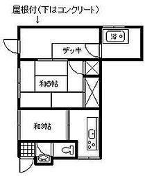 [一戸建] 宮崎県延岡市永池町2丁目 の賃貸【/】の間取り
