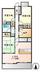 レジディア泉[8階]の間取り