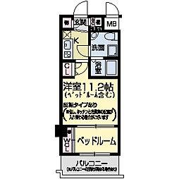 セレニテ甲子園II[0308号室]の間取り