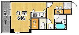 シスタス赤坂[2階]の間取り