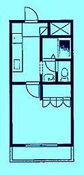 フルール・ド・スリジェ[2階]の間取り