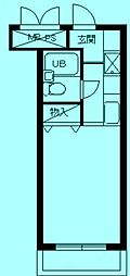 スカイコート宮崎台第3[2階]の間取り