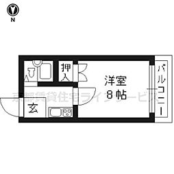 メゾン雅[305号室]の間取り