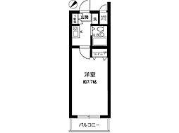 マイステージ立川[2階]の間取り