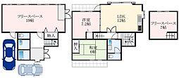 南海高野線 萩原天神駅 3.5kmの賃貸一戸建て 1階3SLDKの間取り