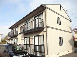 長野県長野市大字下駒沢の賃貸アパートの外観