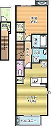 セイバリーヒル[2階]の間取り
