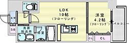 (仮称)ニコニコタクシー株式会社様プロジェクト 2階1LDKの間取り