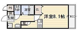 カーサ北本通[2階]の間取り