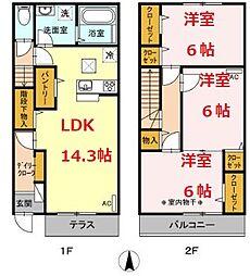 鴨宮駅 9.0万円