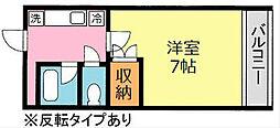 ライフフォーラム桜台[207号室]の間取り