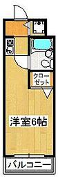 PLENDY船橋法典[A102号室]の間取り